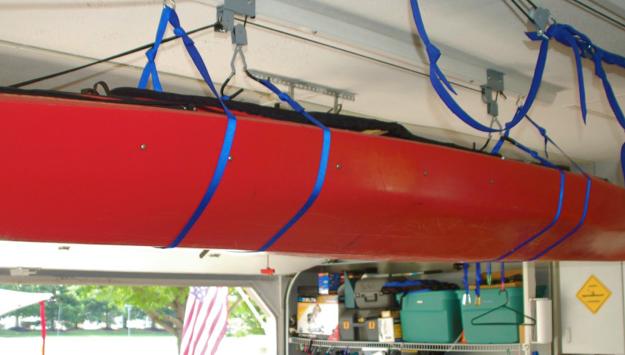 Gear Review Kayak Storage Hanging Your Kayaks